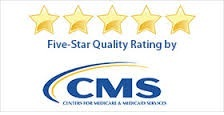 CMS five-star rating symbol