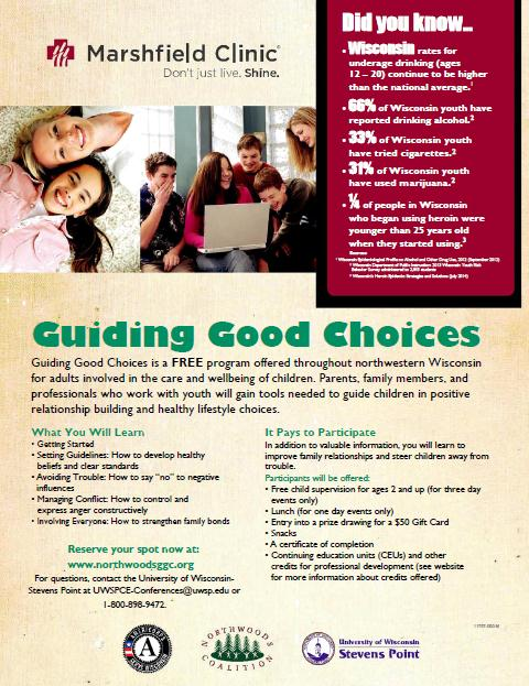 Guiding Good Choices Flyer